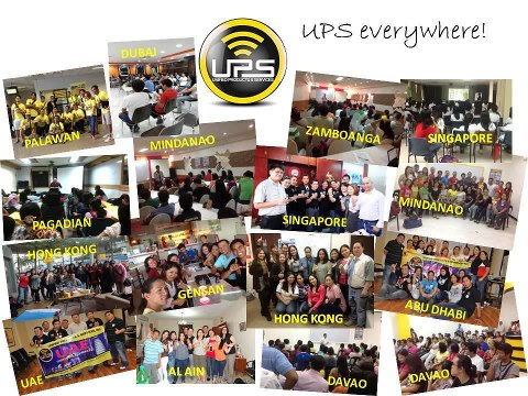 unified products services upsxpress ups negosyo business franchise hub Philippines gprs global pinoy remittance mygprsexpress