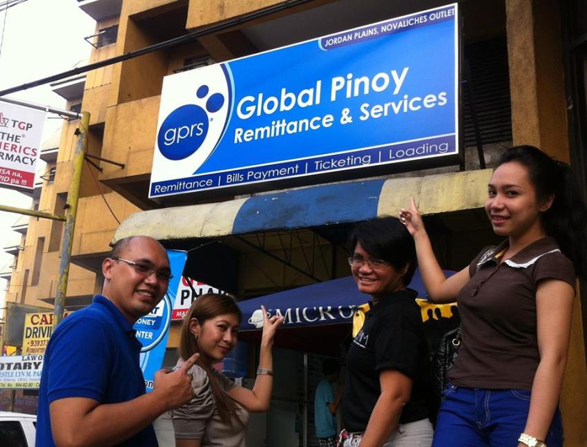 gprs global pinoy remittance and services novaliches negosyo home based business franchise Philippines