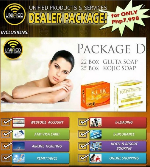 Products Services: TANGIBLE DEALER PACKAGE BY UNIFIED PRODUCTS SERVICES