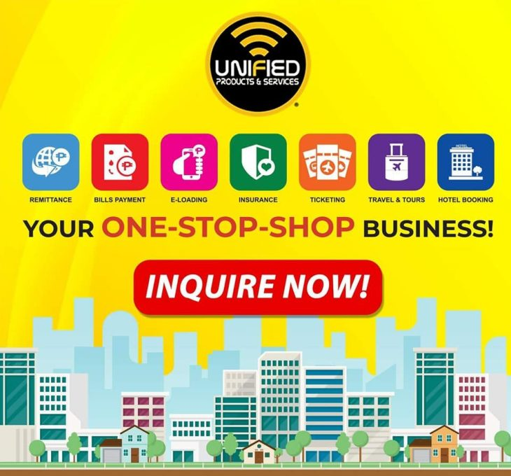 Unified Products and Services Incorporated Main Office Official Website Negosyo Business Franchise Quezon City Mandaluyong Pasig Makati Pasay Antipolo San Juan Manila Cainta Taytay Rizal Location Address Success